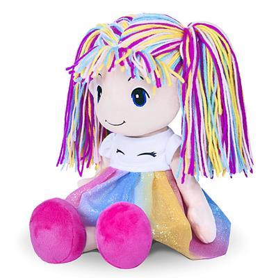 Мягкая игрушка «Кукла Стильняшка», радуга, 40 см