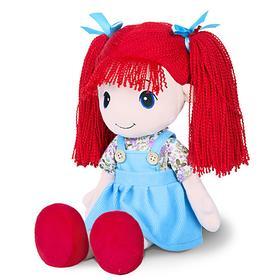 Мягкая игрушка «Кукла Стильняшка», с красными волосами, 40 см