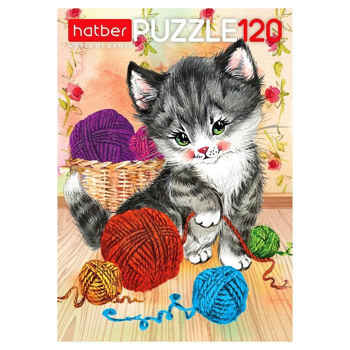 Пазл 120 элементов «Котёнок»