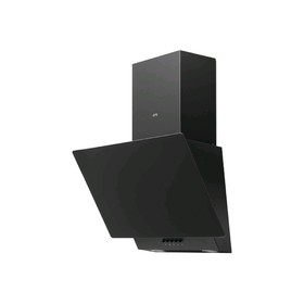 Вытяжка ORE Floro 60 PG Black, наклонная, 600 м3/ч, 3 скорости, чёрная