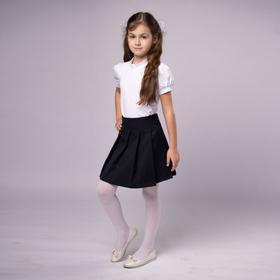 Юбка для девочки, цвет чёрный, рост 134 Ош