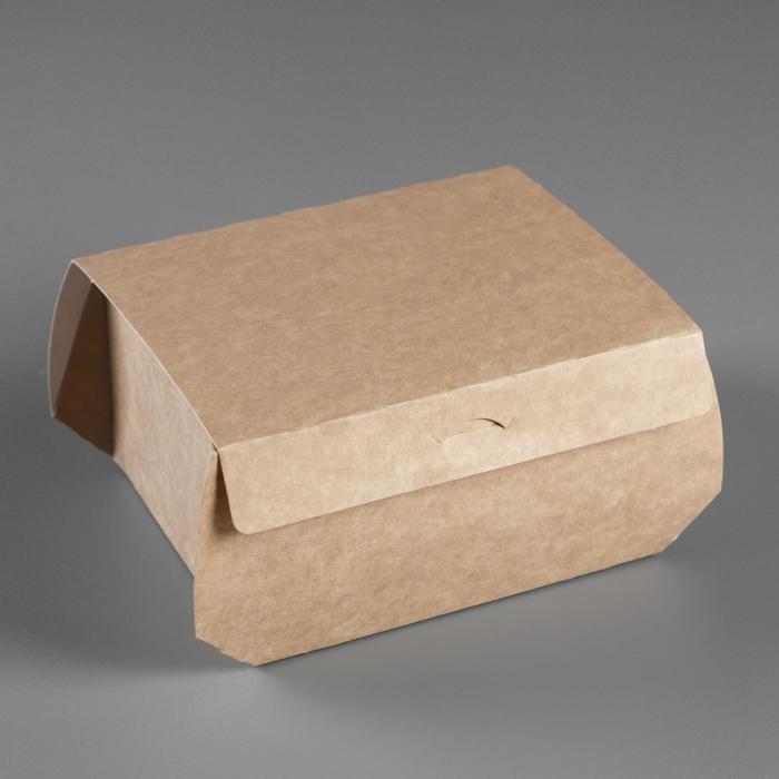 Коробка самосборная Крафт 15 х 12 х 8 см