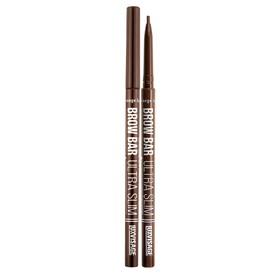 Карандаш для бровей Luxvisage Brow Bar Ultra Slim, механический, тон 302 soft brown