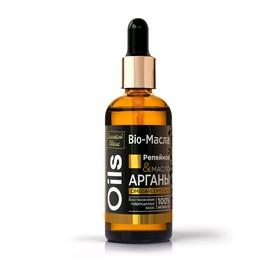 Масло для волос Золотой Шелк «Репейное & масло Арганы», восстановление, 100 мл