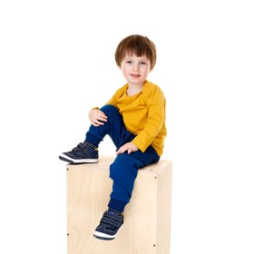 Футболка для мальчика, рост 74 см, цвет жёлтый