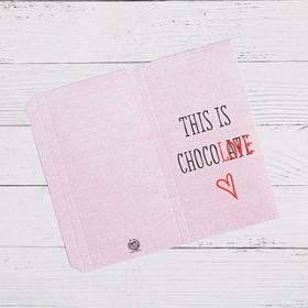 Обёртка для шоколада This is ChocoLOVE, 8 × 15.5 см