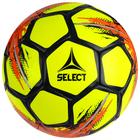 Мяч футбольный SELECT Classic, размер 5, 32 панели, ПВХ, машинная сшивка, жёлтый/красный/чёрный