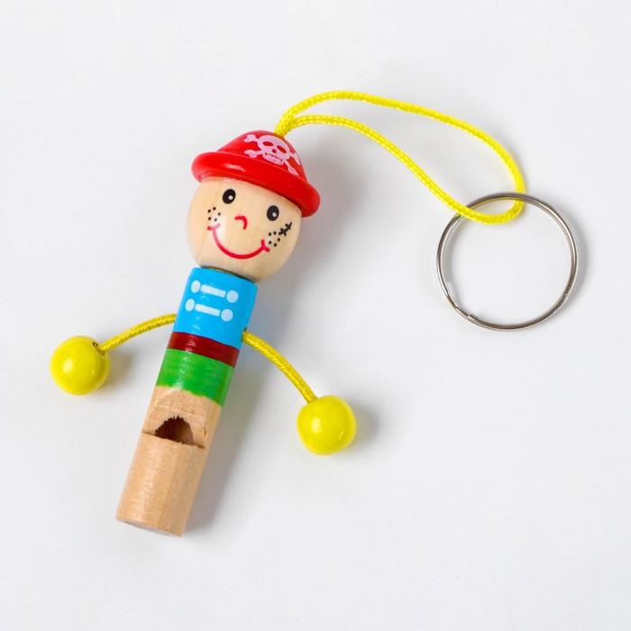 Деревянная игрушка Свисток «Человечек»