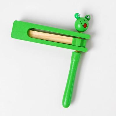 Деревянная игрушка «Трещотка», МИКС - Фото 1