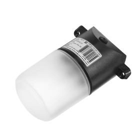 Светильник для бани/сауны ITALMAC Sauna 02 02, 60Вт, IP65, Е27, наклонный, черный +125°C Ош