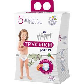 """Подгузники-трусики """"bella baby Happy"""" универсальные, размер Junior, 10 шт"""