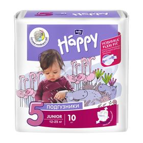 Подгузники Bella baby Happy Junior (12-25 кг), 10 шт Ош