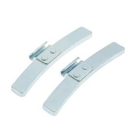 Грузики набивные стальные, для штампованных дисков, 50 г, набор 50 шт Ош
