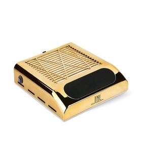 Пылесос для маникюра TNL Vortex, 80 Вт, 3200 об/мин, 1 фильтр, золотистый Ош