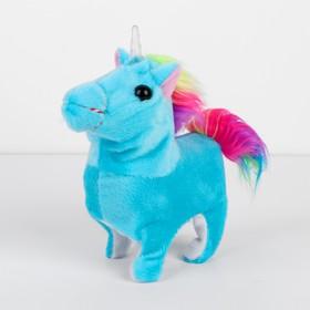 Мягкая игрушка «Единорожка», механическая, цвета МИКС Ош