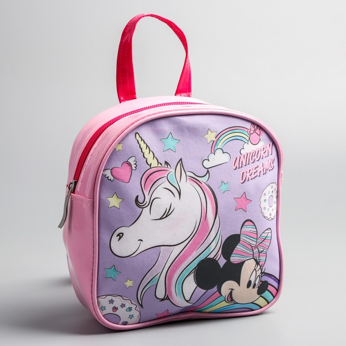 "Детский рюкзак ""Unicorn dreams"", Минни Маус"