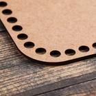 """Заготовка для вязания """"Квадрат скруглённый"""", донышко из фанеры 3 мм, размер 30×30 см - Фото 2"""