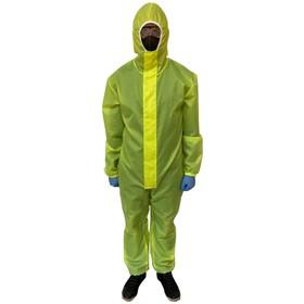 Комбинезон защитный с капюшоном Axper  Желтый, материал Таффета(полиэстер) 60 г/м² Ош