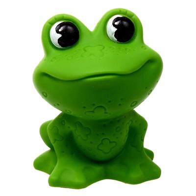 Резиновая игрушка «Лягушка» - Фото 1
