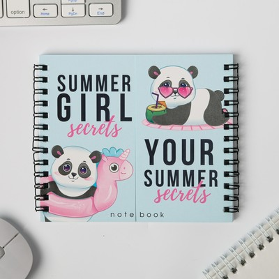 Двойной блокнот Summer girl secrets - Фото 1