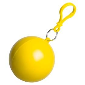 Дождевик в круглом футляре Nimbus, цвет упаковки жёлтый Ош