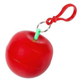 Дождевик в футляре «Фрукт», цвет красное яблоко Ош