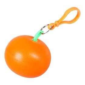 Дождевик в футляре «Фрукт», цвет оранжевый мандарин Ош