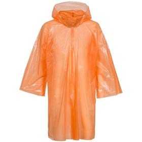 Дождевик-плащ BrightWay, цвет оранжевый Ош