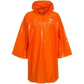 Дождевик-плащ CloudTime, цвет оранжевый Ош