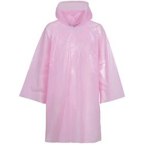 Дождевик-плащ CloudTime, цвет розовый Ош