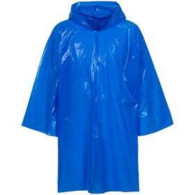 Дождевик-плащ CloudTime, цвет синий Ош