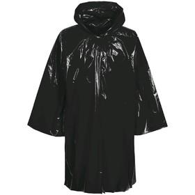 Дождевик-плащ CloudTime, цвет чёрный Ош