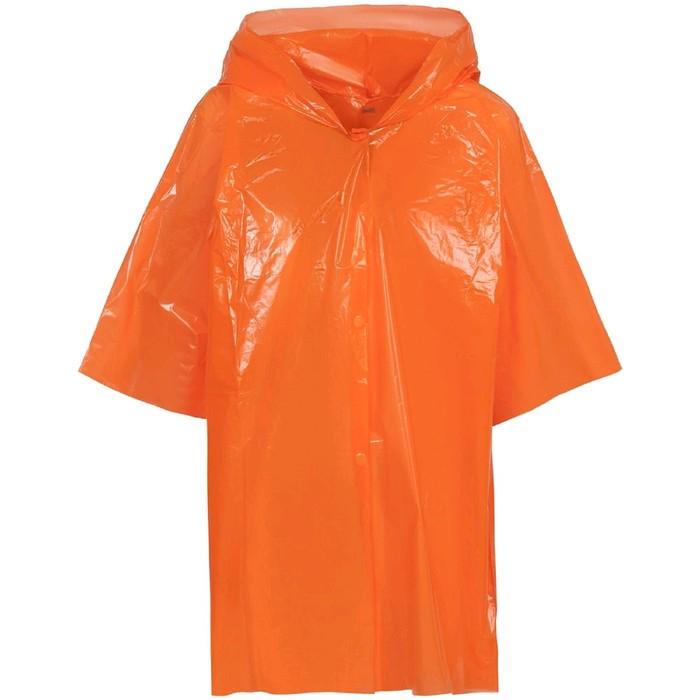 Дождевик-плащ детский BrightWay Kids, цвет оранжевый