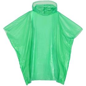 Дождевик-пончо RainProof, цвет зелёный Ош
