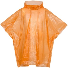 Дождевик-пончо RainProof, цвет оранжевый Ош