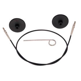 Набор для круговых спиц: тросик 76 см (100 см), заглушки, кабельный ключик