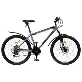 Велосипед 26' Progress модель Advance Disc RUS, цвет серый, размер 19' Ош