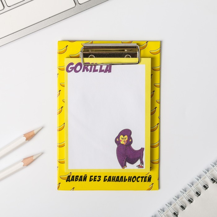 Блок с липким краем на планшете Gorilla