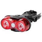 Фонарь велосипедный задний JY-528-1, 2 светодиода