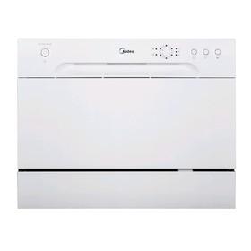 Посудомоечная машина Midea MCFD-0606, 1380 Вт, 6 комплектов, 6 программ, белая Ош