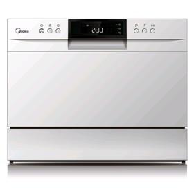 Посудомоечная машина Midea MCFD55500W, 1380 Вт, 6 комплектов, 6.5 л, белая Ош