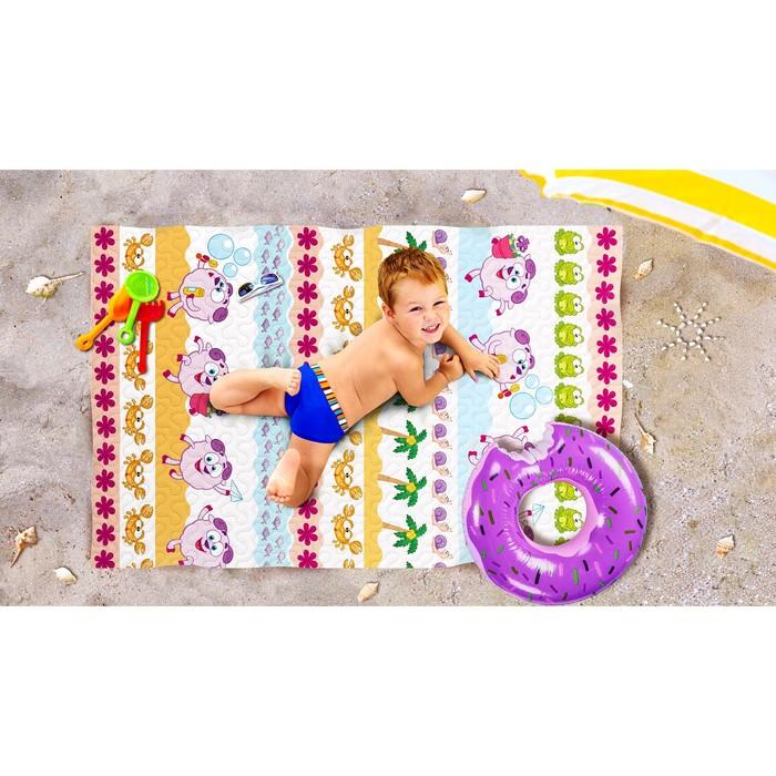 Пляжное покрывало «Бараш мечтатель», размер 90 × 140 см