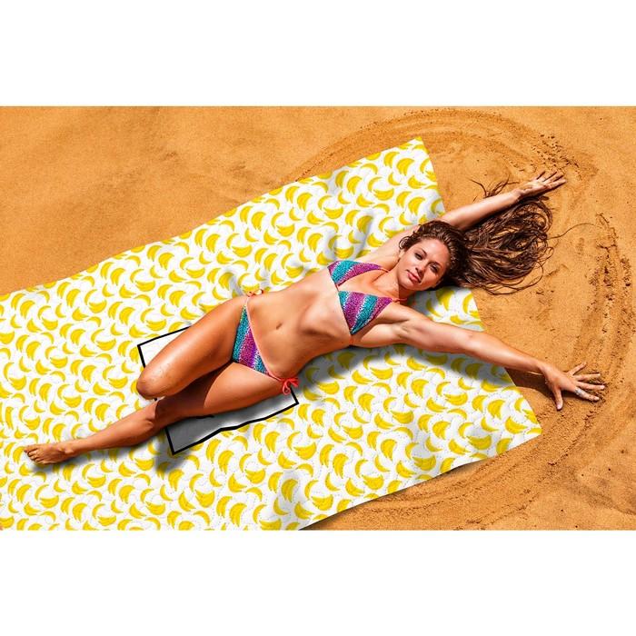 Пляжное покрывало «Банановый смузи», размер 145 × 200 см