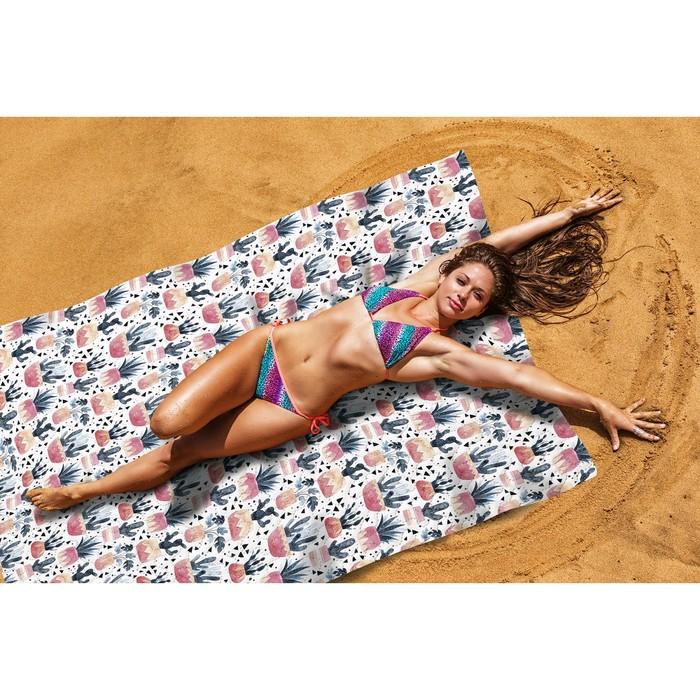 Пляжное покрывало «Баннаби», размер 145 × 200 см