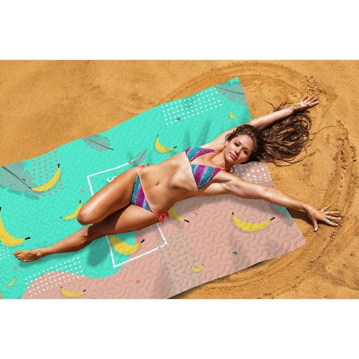 Пляжное покрывало «Банановый микс», размер 145 × 200 см