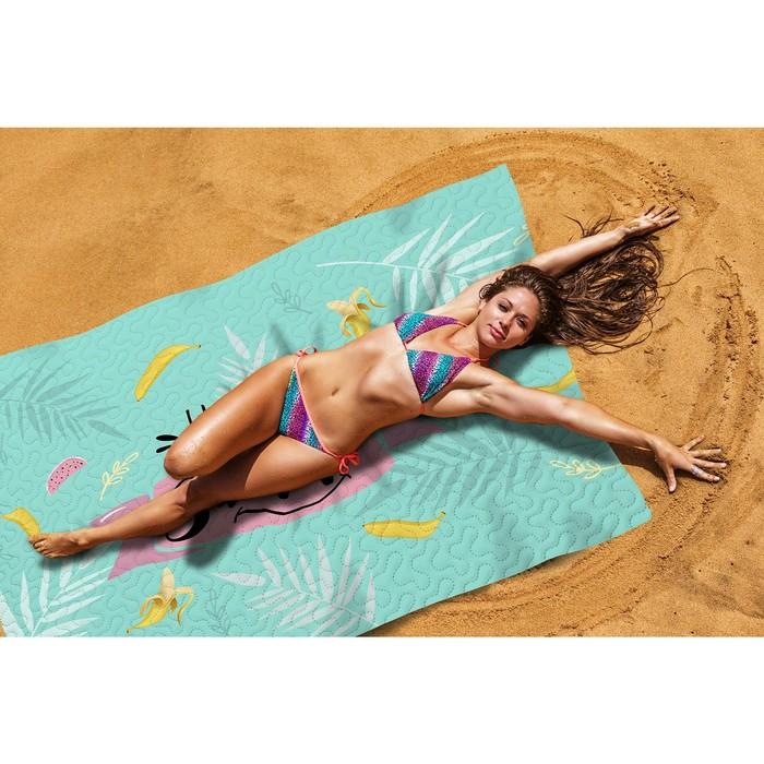 Пляжное покрывало «Веселое лето», размер 145 × 200 см