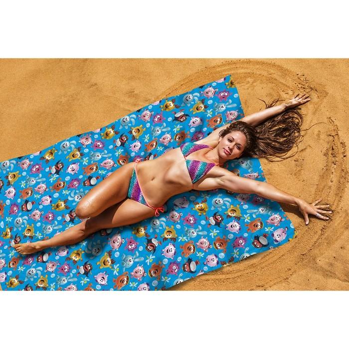 Пляжное покрывало «Веселая команда», размер 145 × 200 см