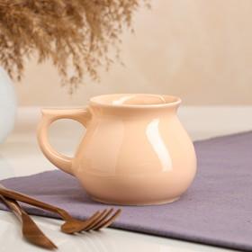 "Чашка ""Чайная"", персиковая, 0.3 л"
