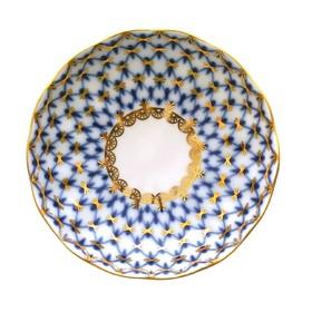 Розетка для варенья «Кобальтовая сетка», 250 мл, 9.8×2.2 см