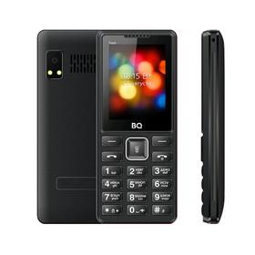 "Сотовый телефон BQ M-2444 Flash 2,4"", 32Мб, microSD, 2 sim, чёрный"